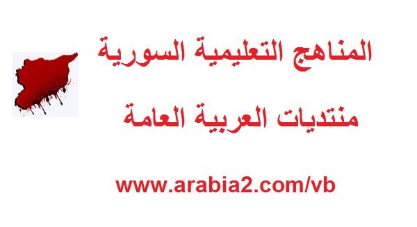 مواضيع مادة اللغة الإنجليزية الصف السابع المنهاج السوري 1462383861382.jpg